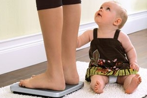 как быстро похудеть после родов кесарево