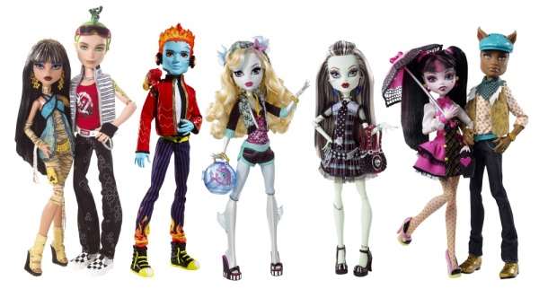 Monster high победное шествие кукол по миру