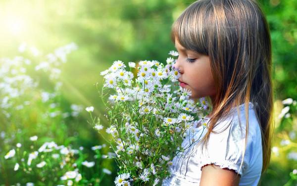 В ребенке чувство прекрасного