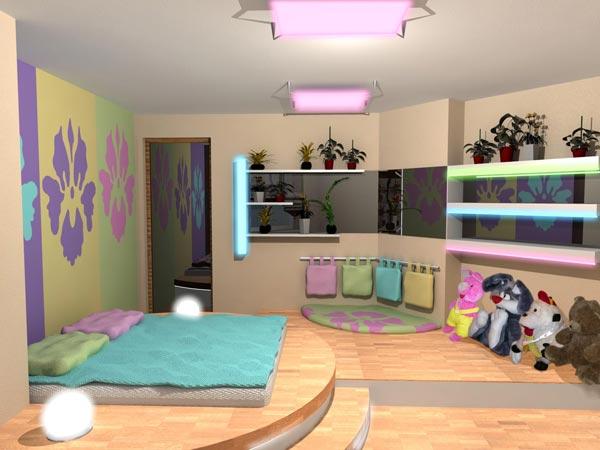 Интерьер для детских комнат